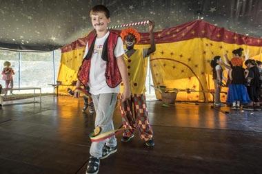 Teatro e Circo a Dynamo Camp