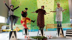 Teatro e scuola di circo a Dynamo Camp