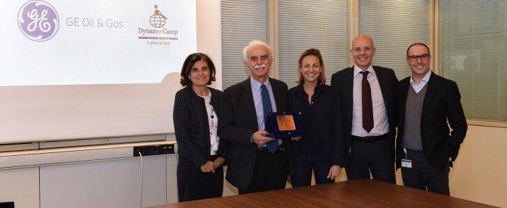 GE Oil & Gas per il sociale: siglato l'accordo di Corporate Partnership con Dynamo Camp