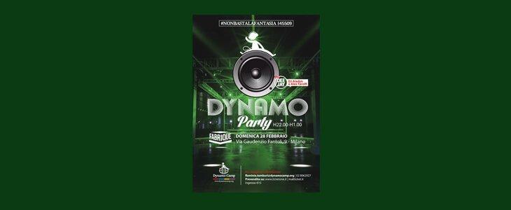 Dynamo Party: festeggia anche tu con noi!
