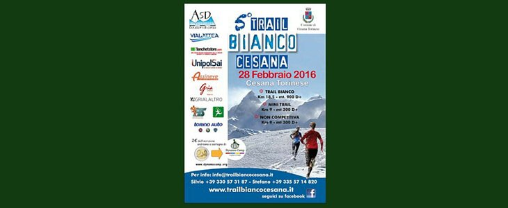 Il Trail Bianco di Cesana sostiene Dynamo!