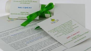 Lettere e biglietti Dynamo Camp