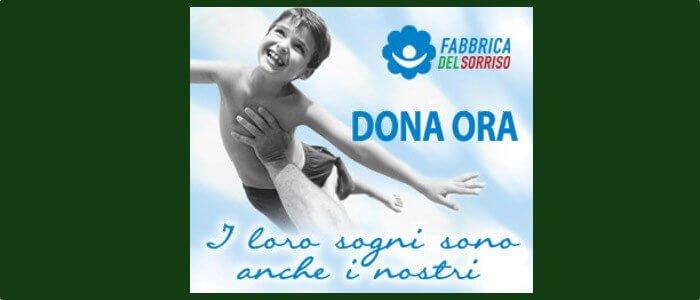 """Sostieni """"Fabbrica del Sorriso"""" donando al 45595: aiuterai anche Dynamo!"""