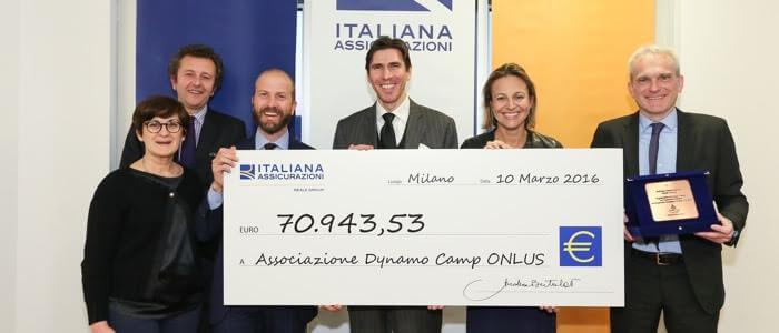 Italiana Assicurazioni sostiene Dynamo Camp!