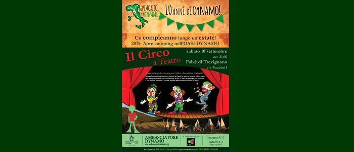10 settembre: Il Circo a Teatro