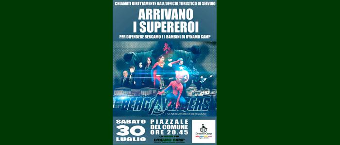 30 luglio: Arrivano i Supereroi a Selvino