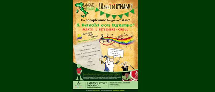 17 settembre: A tavola con Dynamo 2