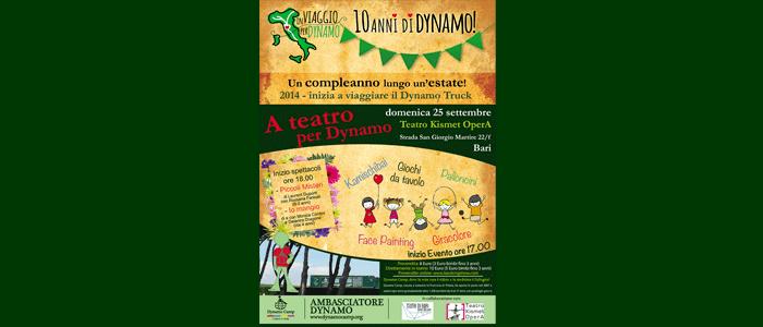 25 settembre: a teatro per Dynamo