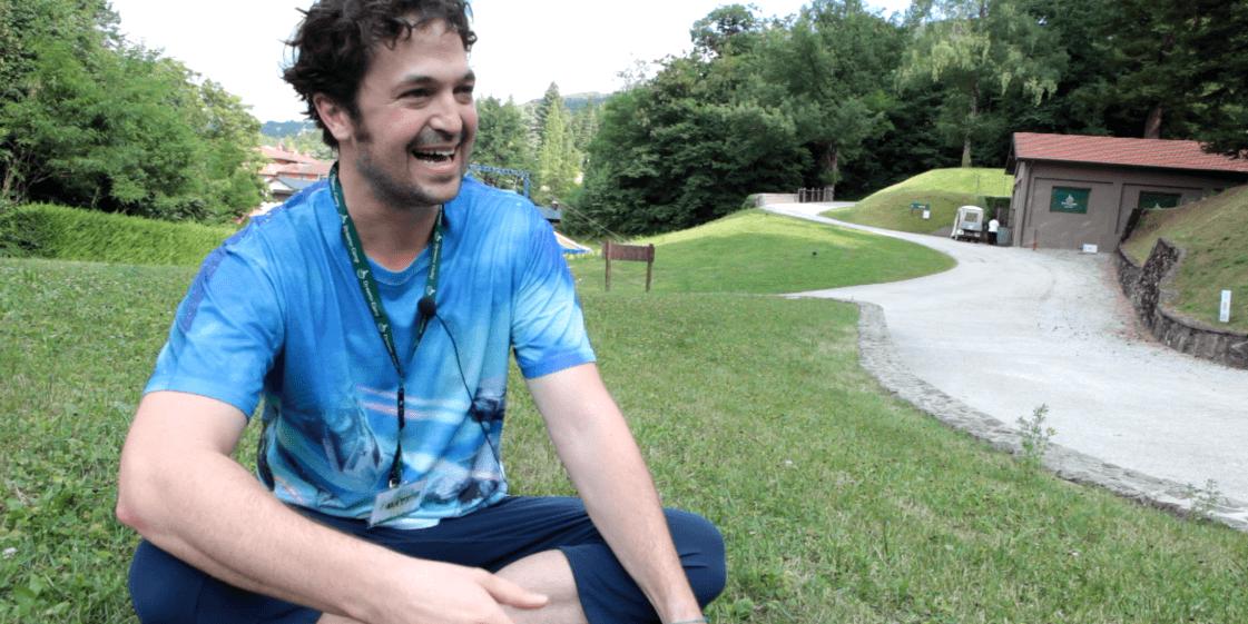 Matt, un volontario da molto lontano