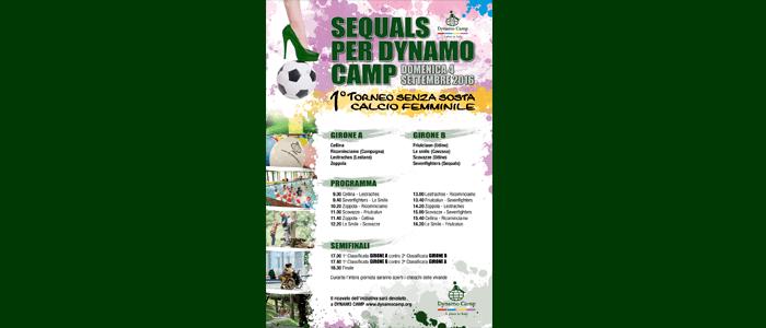 4 settembre: Sequals per Dynamo Camp