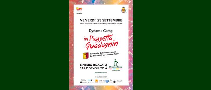 23 settembre: Dynamo Camp in Piazzetta Guadagnin