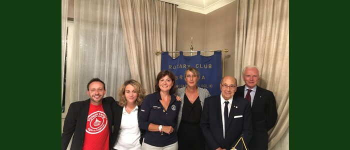 Una serata in compagnia del Rotary Club