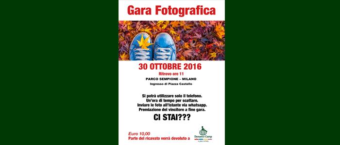 30 ottobre 2016: Gara Fotografica