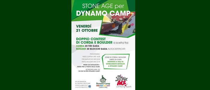 21 ottobre: Stone Age per Dynamo Camp