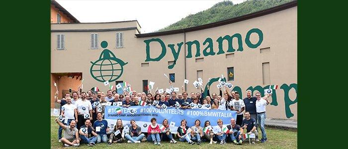 100 anni BMW, 100 volontari a Dynamo