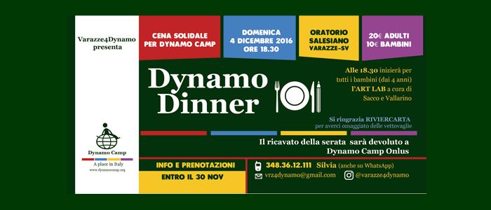 4 dicembre: Dynamo Dinner