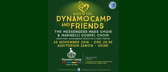 20 novembre: Music for Dynamo Camp and Friends