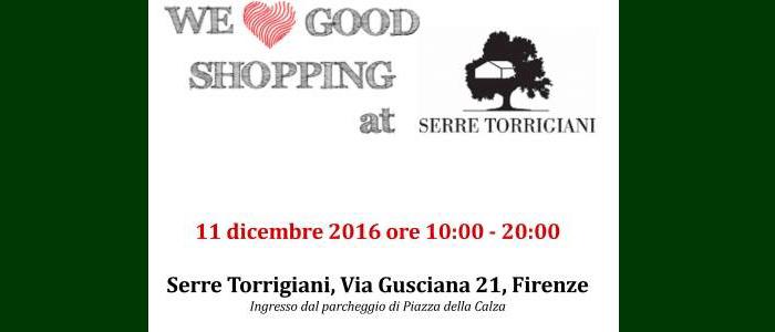 11 dicembre: we love good shopping at Serre Torrigiani