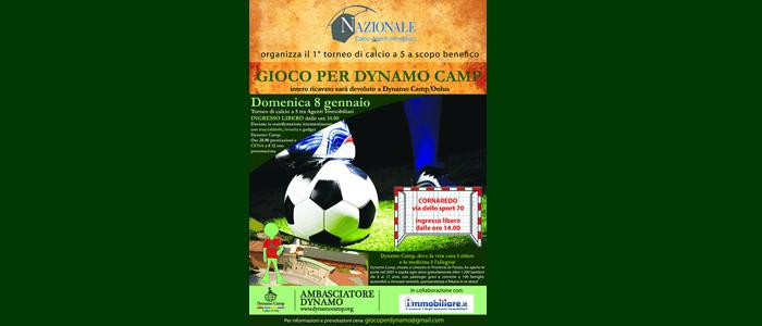 8 gennaio: gioco per Dynamo Camp