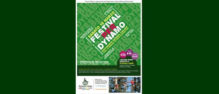 18 marzo: Festival per Dynamo 2017