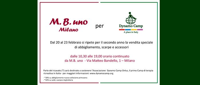 20 23 febbraio  MB Uno per Dynamo Dynamo Camp Dynamo Dynamo Camp 5bc6ce