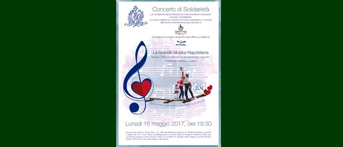 15 maggio: Concerto di Solidarietà