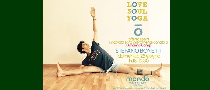 25 giugno: Love Soul Yoga