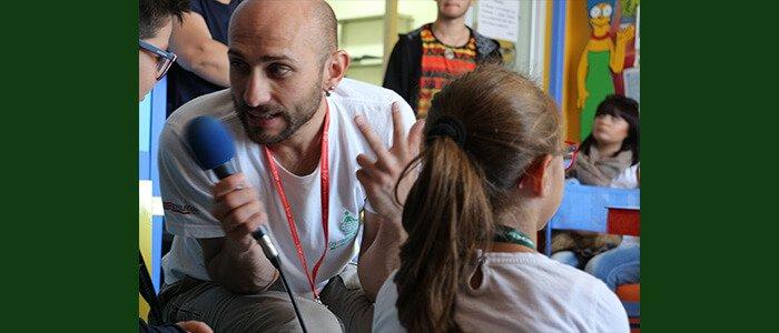 Terapia Ricreativa Dynamo all'ospedale di Verona con Fondazione Just Italia