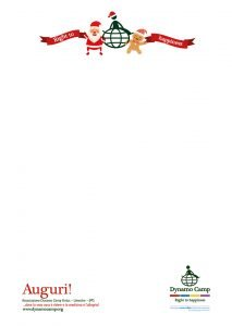 Lettera Natale Dynamo Camp 1