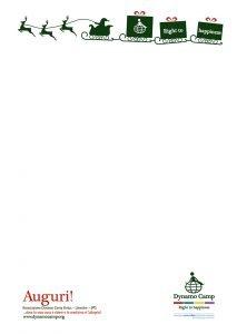 Lettera Natale Dynamo Camp 3