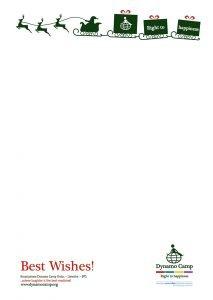 Lettera Natale Dynamo Camp 4