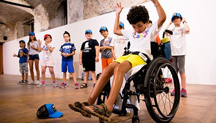 Dynamo Camp terapia ricreativa hip-hop