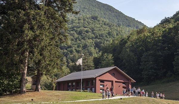 Dynamo Camp le cabin del camp