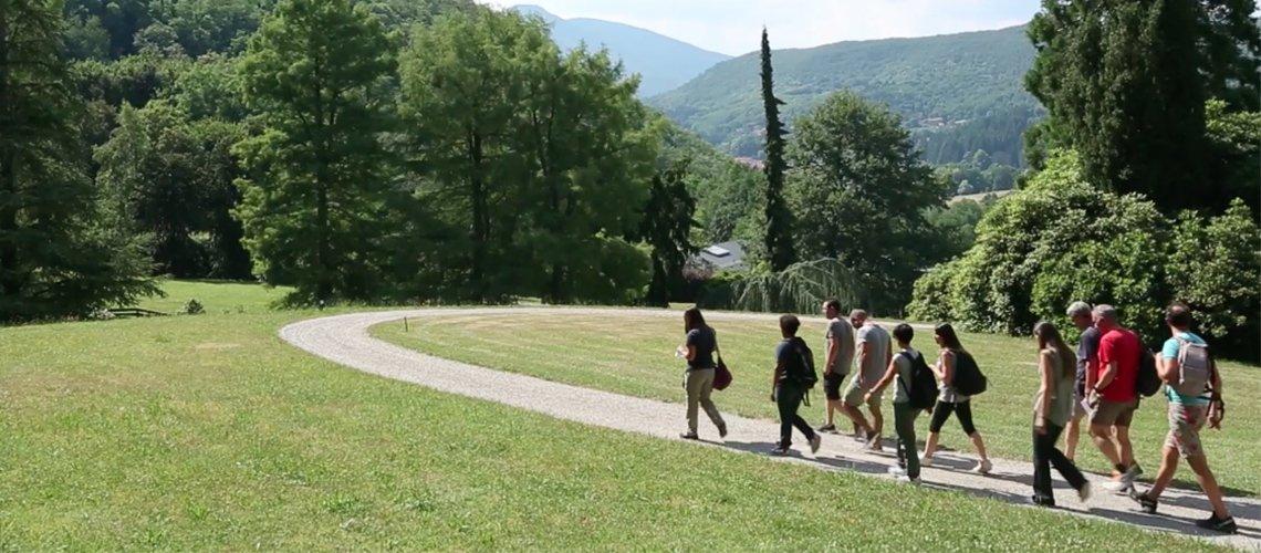 Team building aziendale nella natura di Dynamo Camp