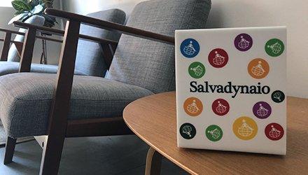 Salvadynaio colorato per sostenere la Terapia Ricreativa Dynamo