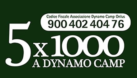 destinare 5x1000 a Dynamo Camp per sostenere Terapia Ricreativa