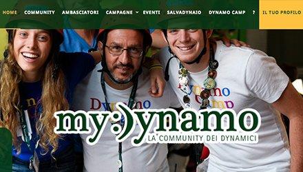 My Dynamo, community dei Dynamici unita per sostenere Terapia Ricreativa