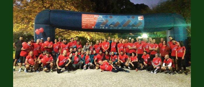 Un evento in movimento: i chirurghi endovascolari corrono per Dynamo