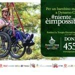 locandina campagna sms solidale 2020 per sostenere Terapia Ricreativa Dynamo