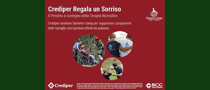 """""""Crediper Regala un Sorriso"""": l'iniziativa di BCC che regala un sorriso ai bambini affetti da autismo"""