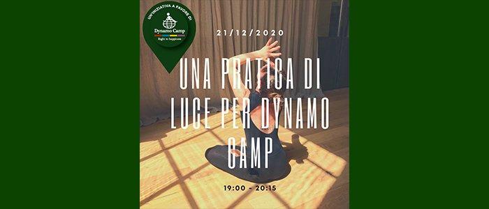 Una pratica di luce per Dynamo Camp