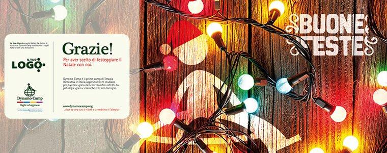 Scegli le lettere di Natale Dynamo personalizzate per la tua azienda