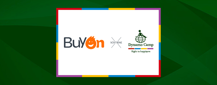 Buyon: il cashback solidale a sostegno di Dynamo Camp