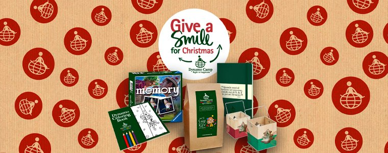 Rendi speciale il tuo Natale con i regali solidali Dynamo